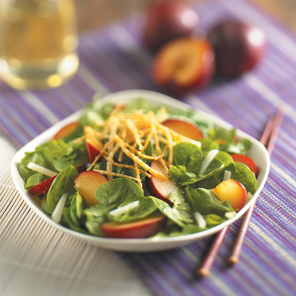 Asian Plum Salad